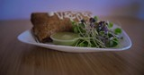 Vegan burrito healthy food - 213380264