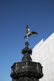 London, United Kingdom - June 26, 2018 : Shaftesbury Memorial Fountain in Piccadilly - 213383082