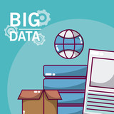Big data technology concept - 213384072
