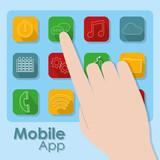 Mobile application symbols - 213395238