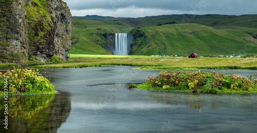 Fototapeta Skogafoss, south of Iceland