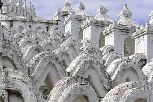 Hsinbyume-Pagode, auch Myatheindaw-Pagode, Mingun, Myanmar, Asien - 213441837