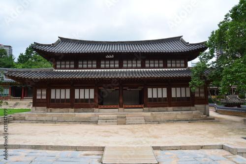 Foto Spatwand Seoel Deoksugung Palace, Seoul, Korea, Südkorea