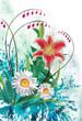 Floral Background - 213450222