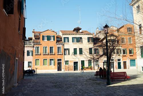 Fototapeta Venice. Classic italian architecture