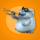 Fun yeti - 3D Illustration - 213472866