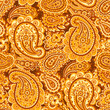 Paisley Floral oriental ethnic Pattern. Seamless Ornamental Indian fabric patterns. - 213473260
