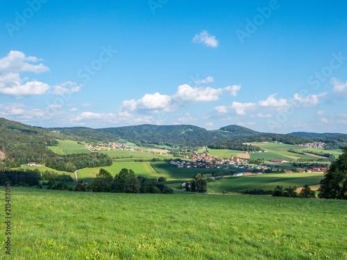 Poster Landschaft in Niederbayern