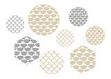 Wave pattern. Sea japan pattern vector - 213515257