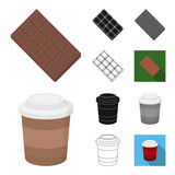 Fast food cartoon,black,flat,monochrome,outline icons in set collection for design.Food from semi-finished products vector symbol stock web illustration. - 213518270