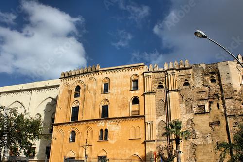 In de dag Palermo Palazzo Reale, Palermo