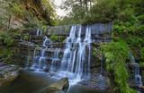 Small waterfall near village Ripit i Pruit, Catalonia, Spain