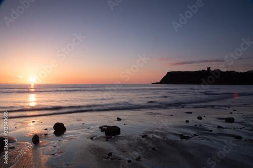 Plexiglas Zonsopgang Sunrise North Bay Scarborough