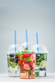 Take away drinks concept.