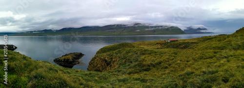 Foto Murales Bonita paisagem natural da Islândia