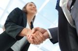 Business partnership meeting concept. Image businessmans handsha - 213553220