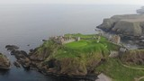 stonehaven castle , The most beautiful tourist places in the Scottish countryside. - 213561649