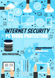 Internet security, data protection technology