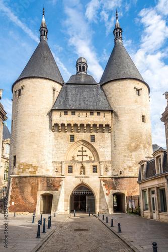 Fototapeta View at the Craffe gate in Nancy - France