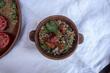 гречка с мясом и помидорами - 213590034