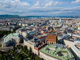View of Vienna in Austria from the air - 213592842