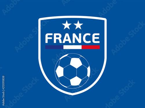 FOOTBALL FRANCE - Blason