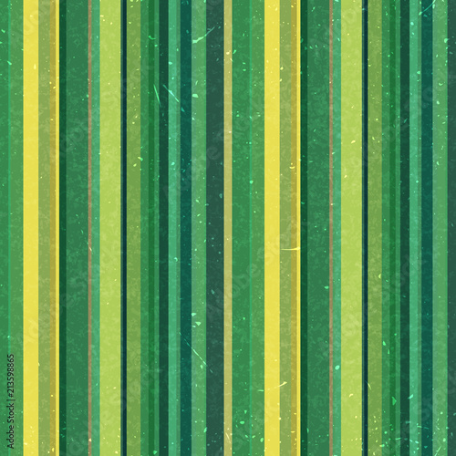 Vertical stripes pattern, seamless texture background. Ideal for printing onto fabric and paper or decoration. Green, yellow colors.