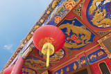 Details of Chinese temple in Hong Kong - 213601437