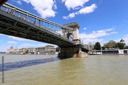 Fotobehang Boedapest Будапешт столица Венгрии , город на берегу Дуная