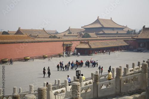 Plexiglas Peking Forbidden Palace China