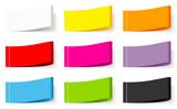 9 Textile Label Set Color Mix - 213608457