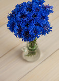 cornflower flowers background