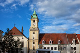 Old Town Hall and Jesuit Church in Bratislava