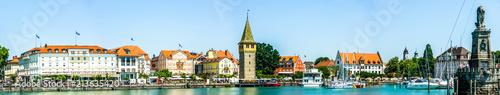 Sticker harbor of lindau - germany