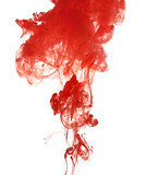 Red ink into the water - 213635891