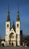Church of Immaculate Conception of Virgin Mary in Ostrava. Czech Republic - 213643251