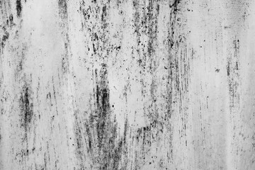 Black and white dust and Scratched Textured Backgrounds with space.