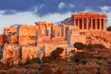 Athens. The Parthenon on the Acropolis. - 213669440