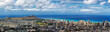 Panoramic view of Honolulu city, Waikiki and Diamond Head from Tantalus lookout