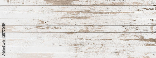 Leinwandbild Motiv wood board white old style abstract background objects for furniture.wooden panels is then used.horizontal