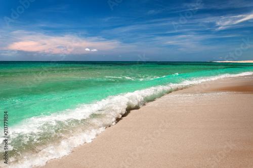 Foto Murales Sardinia, Sinis beach, Italy
