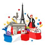France background design. - 213782823