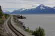 Alaskan Railroad South Anchhorage.