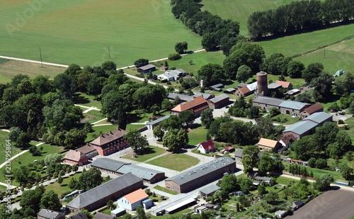 Rothenklempenow an der polnischen Grenze