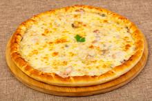 """Постер, картина, фотообои """"Pizza with seafood"""""""