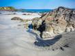 Leinwanddruck Bild - Irland Küste bei Dungloe