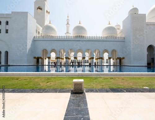 Foto Spatwand Abu Dhabi Sheikh Zayed Grand Mosque