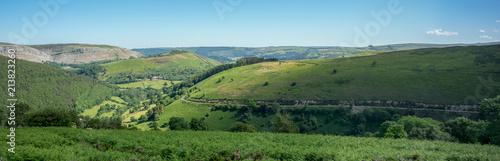 Plexiglas Pool Welsh Landscape