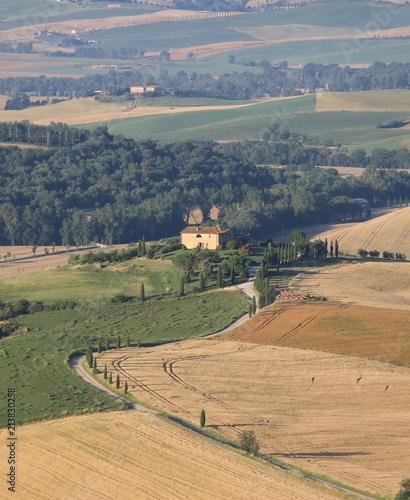 Canvas Toscane Colline Toscane