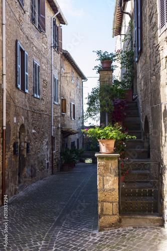 Fototapeta Tarquinia, province of Viterbo, Lazio, Italy
